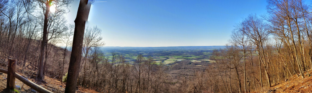 A nice view of the Cumberland Valley